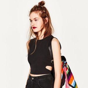 Zara black top NWOT 😍